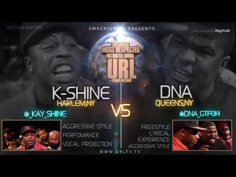 dna - SMACK/ URL does it again with another dope match up between DNA (Queens, NY) & K-Shine (Harlem, NY) . This took place on March 9th which is the anniversary o...