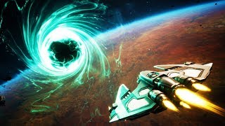 INTO The VIRTUAL REALITY WORMHOLE! - Everspace Encounters DLC Gameplay - HTC Vive Virtual Reality