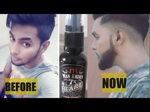 Man Arden 7x Beard oil The Woods  How to use bread oil to grow beard