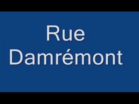 Rue Damrémont Paris Arrondissement  18e