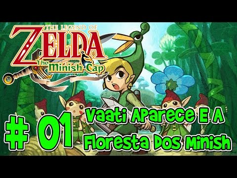 Mr. Detonado: The Legend of Zelda - The Minish Cap parte 1 :-: Vaati