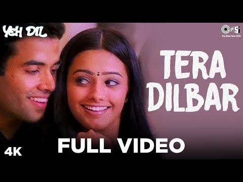Tera Dilbar Full Song- Yeh Dil | Tusshar Kapoor & Anita | Alka Yagnik & Sonu Nigam