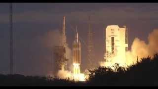 Orion EFT-1 Launch 4K Video Tracking Camera Via Lockheed Martin