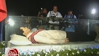 image of 24 Oras: Paghimlay kay dating Pres. Marcos sa Libingan ng mga Bayani, inaasikaso na