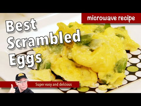 How to Cook Scrambled Eggs in the Microwave