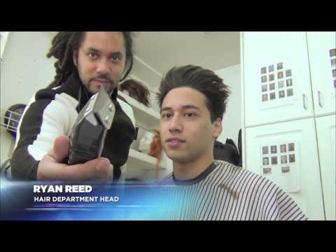 Defiance: Season One - On Set with Jesse Rath - Make Up