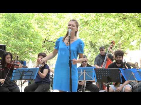 Viktorija Geyt & Julien Coriatt Orchestra @ Parc Georges Brassens