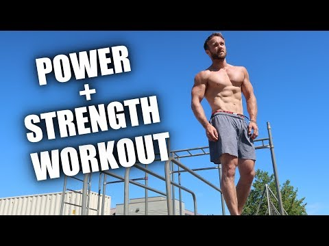 Nutrition - EXPLOSIVE CALISTHENICS CIRCUIT (FULL BODY + BEGINNER OPTIONS)