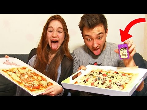 Video PIZZA AU VOMI ! - Pizza Challenge en Couple !! download in MP3, 3GP, MP4, WEBM, AVI, FLV January 2017