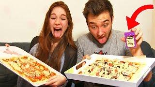 Video PIZZA AU VOMI ! - Pizza Challenge en Couple !! download in MP3, 3GP, MP4, WEBM, AVI, FLV January 2017