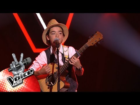 William - 'Stone Cold Liar' | Blind Auditions | The Voice Kids | VTM
