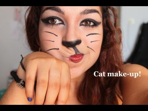 Tutoriel maquillage : Le chat!