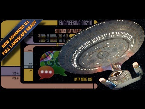 Video of STAR TREK LCARS DISPLAY THEME