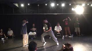 Funky P vs チャーリー – Black Jam vol.28 SEMI FINAL
