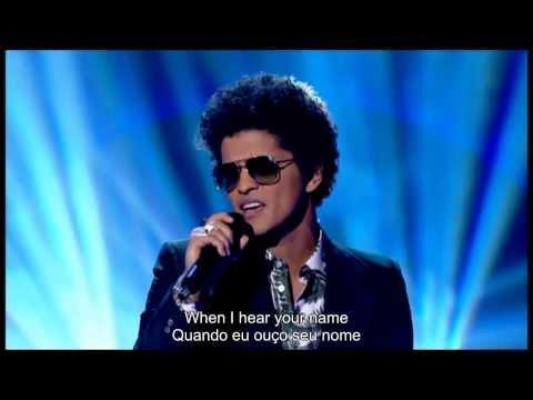 Bruno Mars - When I Was Your Man (Live) - Legendado-português/inglês