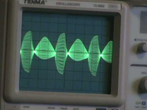 krisp1 - 2 Triangle waves from Oakley VCOs one to the main Discon input the other to the fold CV input Modulation by Oakley ADSR/VCA, VCLFO, little LFO and MidiDAC Se...
