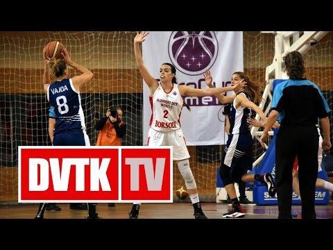 Női kosárlabda Európa Kupa D csoport, 3. forduló. Aluinvent DVTK - Yakin Dogu Üniversitesi