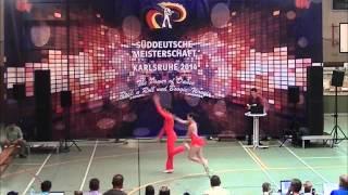 Kristin Palfreyman & Vitus Reiter - Süddeutsche Meisterschaft 2014
