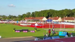 Chateauroux France  city images : Championnat de France 1500m cadette finale Châteauroux 2016