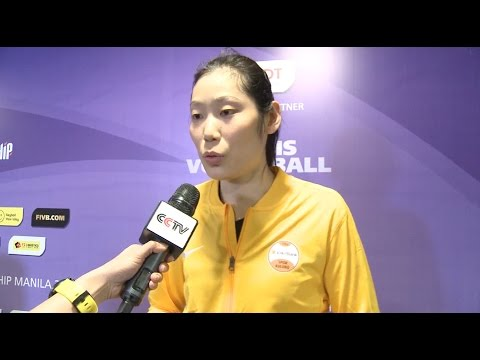 China's Zhu Ting Makes Stunning Debut At 2016 Volleyball Championship