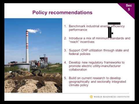 Energy Efficiency in U.S.  Midwest Pulp and Paper Mills