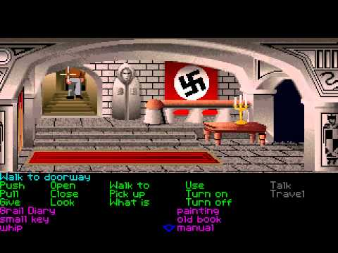 Indiana Jones and the Last Crusade: The Graphic Adventure (PC VGA) - Longplay