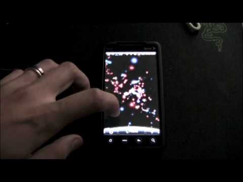 Video of Particle Storm Live Wallpaper