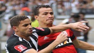 Curtam nossa página: http://www.facebook.com/LeandroSportsVideos Com final emocionante, Atlético-MG e Flamengo empatam...