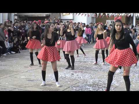 Coreo 5H14 Colegio Ntra Sra del Rosario de Fatima (видео)