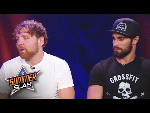 Do Dean Ambrose and Seth Rollins have a team name?: SummerSlam 2017 Kickoff