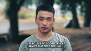Mongolian Rugby: Former Taekwondo star Mendamar Gansukh