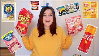 TEACHER TRIES HER STUDENTS FAVORITE SNACKS | TAKIS. OREOS. LUNCHABLES &MORE