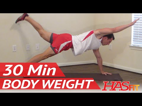 HASfit Body Weight Workout Bodyweight Exercises without Weights Free Exercise with no Equipment
