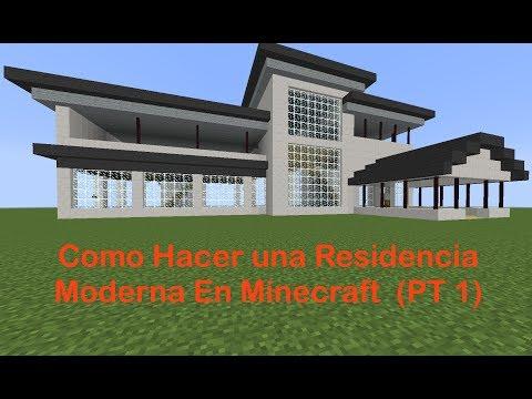 Casas modernas minecraft videos videos relacionados for Casa moderna minecraft mirote y blancana
