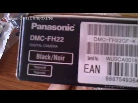 Panasonic FH22 UNBOXING