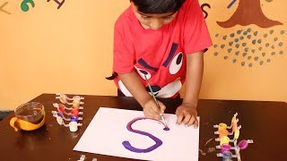 Video ABC Phonics Painting For Kids | Abcd's Writing With Water Colors By Minnu | My Kids Rhymes MP3, 3GP, MP4, WEBM, AVI, FLV September 2018