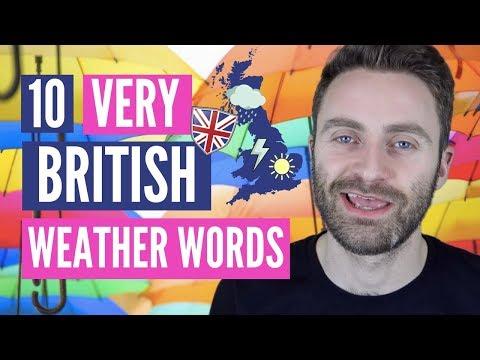 10 Very British Weather Words