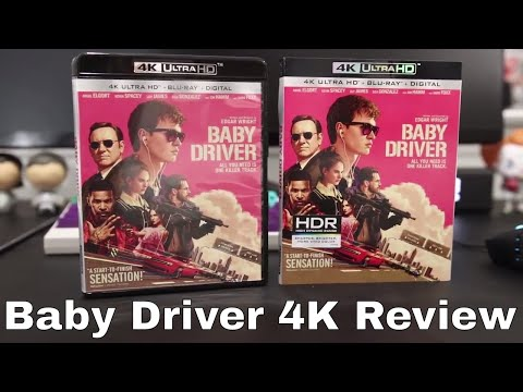 Baby Driver 4K Blu-Ray Review