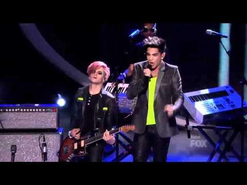 Adam Lambert – Never Close Our Eyes (American Idol Season 11)