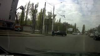 Авария в Воронеже 29 04 2014