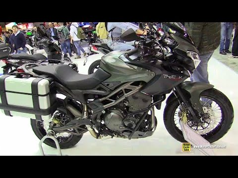 2015 Benelli TRE 1130K Amazonas - Walkaround - 2014 EICMA Milan Motorcycle Exhibition