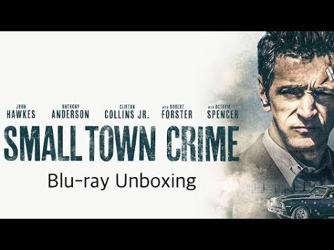 Small Town Crime Blu-ray Unboxing [Filmed In 4K]