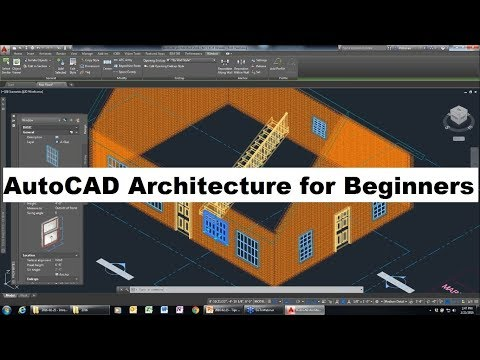 AutoCAD Architecture Tutorial For Beginners Complete