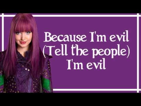 Evil - Dove Cameron (Lyrics) [From Disney's Descendants Wicked World]