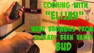 How Make Marijuana Brownies from ABV (Already Been Vaped Bud!) by Medical Marijuana Review Show