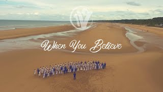 """Video """"When You Believe"""" cover by One Voice Children's Choir MP3, 3GP, MP4, WEBM, AVI, FLV Agustus 2018"""