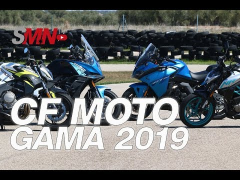Modelos de uñas - Prueba Gama CF Moto 2019 [FULL HD]
