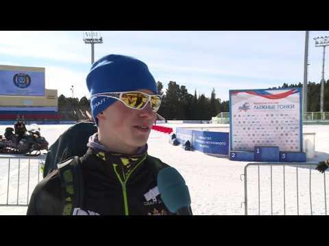 Денис Спицов - серебряный призёр чемпионата России в гонке на 15 км свободным стилем