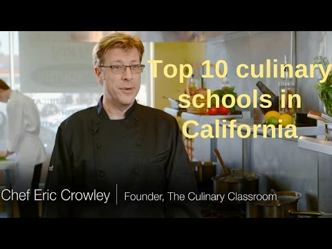 Chef Eric Crowley - Welcome Video - Chef Eric's Culinary Classroom In Los Angeles, CA