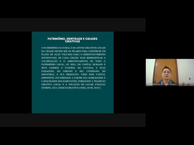 Ciclo de Palestras Economia Criativa em Pauta - PALESTRA 2 (FCMS/Lei Aldir Blanc)